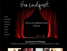 Tablet Preview of oper-gesangsunterricht-wien.at